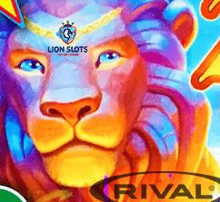 Lion Slots Casino Rival No Deposit Bonus  computercasinogames.com